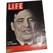 LIFE Magazine March 20, 1939 Washington, Hitler, Goebbels, Roosevelt's, Yankee Clipper