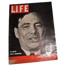 LIFE Magazine March 20, 1939 Washington, Hitler, Goebbels, Roosevelt's, Yankee Clipper