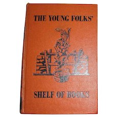 1953, Junior Classics #10 Poetry Reading Guide, The Young Folks Shelf of Books, HC