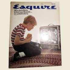 Esquire Magazine May 1967 - Shelby Mustang; Gay Talese; Jack Ruby; Molokai Island; Gardner