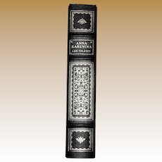 Anna Karenina by Leo Tolstoy, The Franklin Library Hardcover Classics, Translation by Louise and Aylmer Maude. Like New