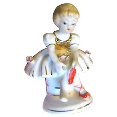 Charming Lefton L'Amour Ballerina Figurine