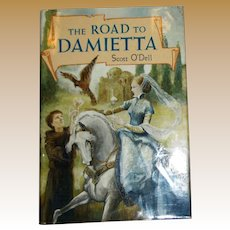 THE ROAD TO DAMIETTA by Scott O'Dell, illustration by Catherine Stock, HCDJ, 1985, 1st Edition