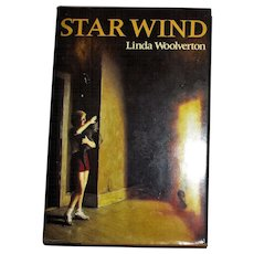 Star Wind by Linda Woolverton, Houghton Mifflin Harcourt 1986, 1st Edition, Near Mint