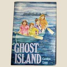 Ghost Island by Carolyn Lane (1985, Hardcover) Weekly Reader Mystery