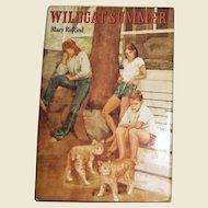 Wildcat Summer by Mary Riskind, HCDJ, 1985 1st Edition