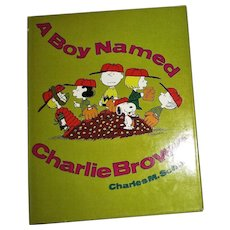 1969, A Boy Named Charlie Brown by Charles M. Schulz, HCDJ, Stated 1st Edition, Near Mint