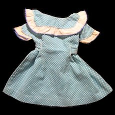 1950's Polka Dot Day Dress for Medium Doll