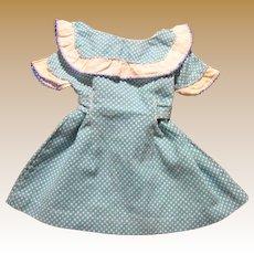 1950's Polka Dot Day Dress for Medium Doll