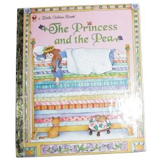 The Princess and the Pea (Little Golden Book) by Margo Lundell  (Hardcover) Like New