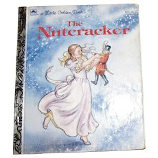 The Nutcracker by Rita Balducci (Children's Little Golden Book) 1991 Hardcover, 1st Edition