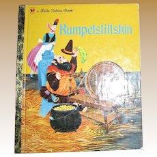 RUMPELSTILTSKI N ~ A Grimms' Fairy Tale ~ Children's Little Golden Book 1991