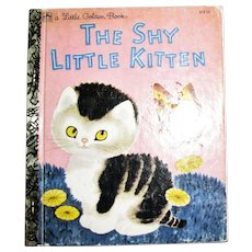 The Shy Little Kitten (Little Golden Books) 1992