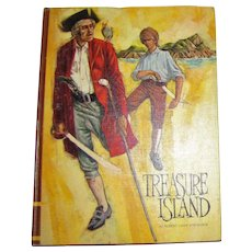 Treasure Island by Robert Louis Stevenson, Illustrated by Don Irwin - 1968 HC, Classic Press, Children's Book