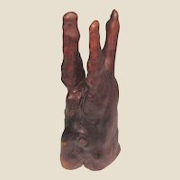 "Vintage Cypress Knee Wood, Beautiful Shape, 12"" Tall"