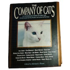 The Company of Cats: 20 Contemporary Stories, HCDJ, Illustrated, Stated 1st Edition, Like New