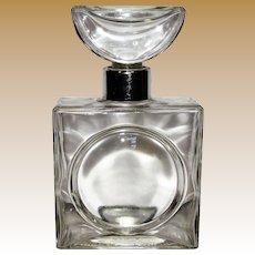 1970's Pierre Cardin Huge Glass Perfume Display Bottle
