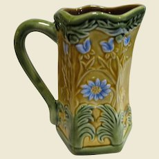 Floral Relief Pitcher by Jay Willfred for Andrea by Sadek