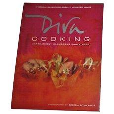 Diva Cooking: Unashamedly Glamorous Party Food by Victoria Blashf Snell & Jennifer Joyce, Nearly New