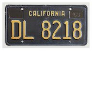 1947 California Trailer License Plate SOLD | Ruby Lane