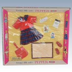 Pepper Ideal Tammy's Little Sister Teacher's Pet Outfit NRFB 1963