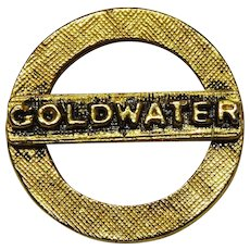 Goldwater Presidential Political Pin 1964