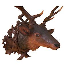 Black Forest Stag Head