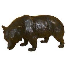 19th Century Bronze Bear