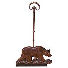 Bronze Bear Door Stop
