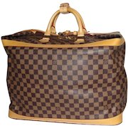 Authentic Louis Vuitton Damier Limited Edition Cruiser 45 Luggage Bag
