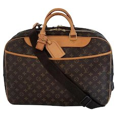 Alize Heures Louis Vuitton Authentic Vintage Soft Sided Luggage Suitcase Travel Weekender Bag