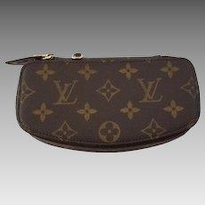 Louis Vuitton Rare Vintage Monte Carlo Monogram Jewelry Case Cosmetic Pouch