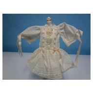 Vintage Artist Bleuette Doll Dress Set