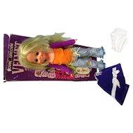 1971 Ideal Movin Groovin Velvet Doll w Original Box