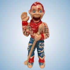 "4"" Celluloid Howdy Doody Doll Toy TLC"
