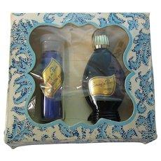 Vintage Evening In Paris Perfume Set w Box