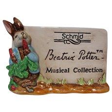 Vintage Beatrix Potter Store Display Plaque