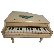 Vintage Small Doll Orchestra Wood Piano