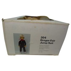 Sasha Gregor Fair Jump Suit Doll Box