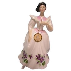 Royal Doulton H N 2703 Figure of the Month February by Peggy Davies 1988