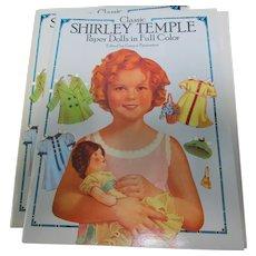 Shirley Temple Paper Doll Book 1991 Marta Krebs