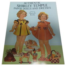 Shirley Temple Paper Doll Book 1986 Dover