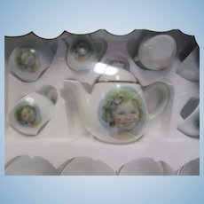 Vintage Shirley Temple 1990's Convention Tea Set NRFB