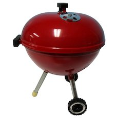 "Real 9"" Doll Size Weber Red Grill"