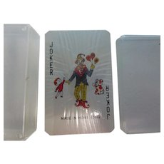 Vintage Doll Sized Playing Cards Never Opened