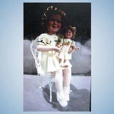 2002 Shirley Temple and Her Doll Danbury Mint Two of a Kind Doll Collection NRFB
