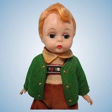 Vintage 1965-72 Madame Alexander-kins Tyrolean Boy Doll