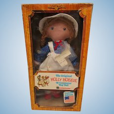 Vintage 1976  Knickerbocker Holly Hobbie Rag Doll LE