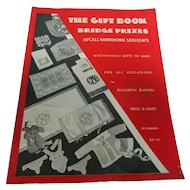 1933 The Gift Book Bridge Prizes To Make Dolls