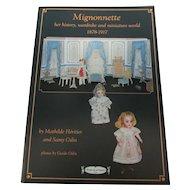 Mignonette Doll Dress Pattern Book 1878-1917
